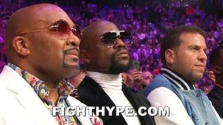 FLOYD MAYWEATHER REACTION TO PACQUIAO DROPPING AND BEATING THURMAN: ″NOT SURPRISED″
