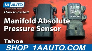 How To Install Replace Manifold Absolute Pressure Sensor MAP 199699 Tahoo 57L  YouTube