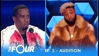 Elijah Connor: ″Diddy″ Tests Confident Artist With EPIC STAREDOWN!   S2E3   The Four