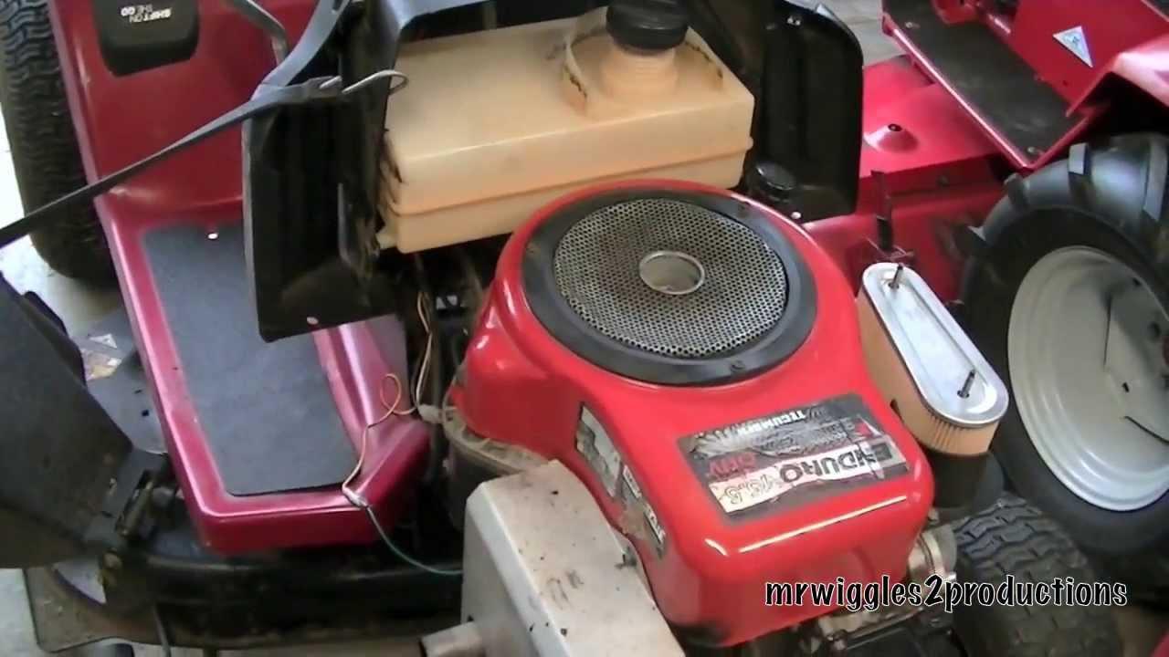 Mtd Yard Machine Wiring Diagram Dynamark 15 5 Hp Tecumseh Youtube