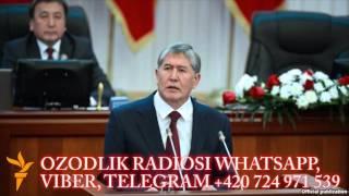 Атамбаев: ″Мен Ўзбекистон нимадан қўрқаётганини биламан″