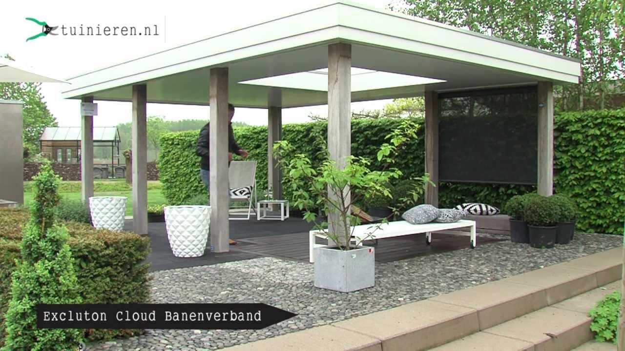 Moderne strakke tuin ontwerpen  Tuinierennl  YouTube