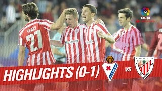 Resumen de SD Eibar vs Athletic Club (0-1)