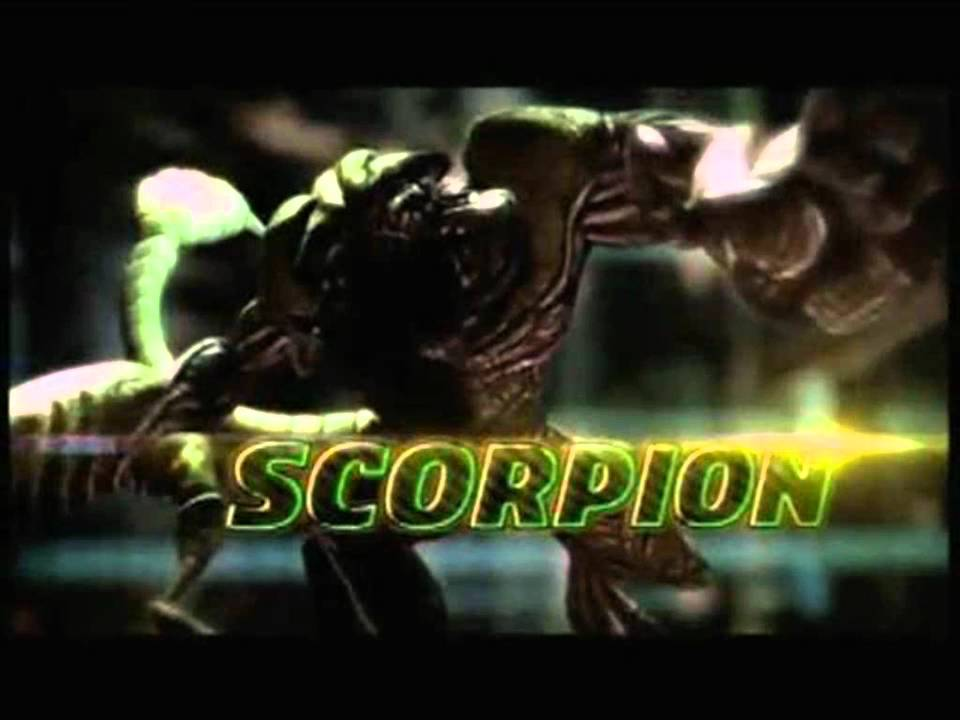 Spider Scorpion Man Dimensions Shattered