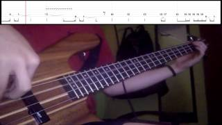 Red Hot Chili Peppers - Aeroplane (Bass Cover) (Play Along - Tabs In )