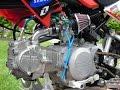 Test dàn hơi xe độ - Honda 67 độ full máy Takegawa Japan (Ga vặn là có)
