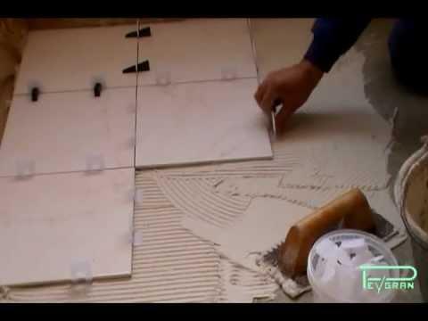 Sistema de nivelacin de cermica para pavimento y pared