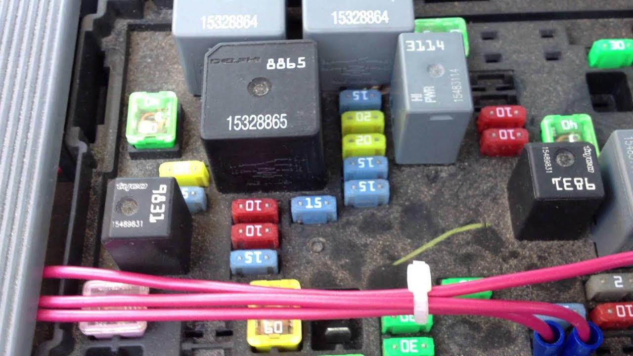 2005 F150 Fuse Box Location Nbs Silverado Battery Drain Fix Youtube