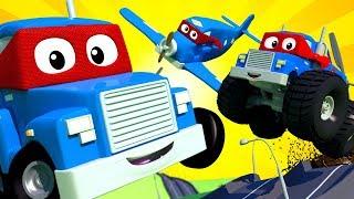 Carl el Super Camión en Auto City - Dibujos animados para niños - Live 🔴