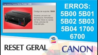 Download Canon Service Tool   How To Solves Error 5B00 On