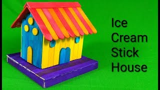 ice cream stick house images