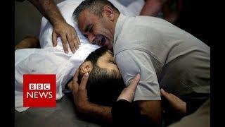 Gaza protest violence: Death toll rises to 43 - BBC News