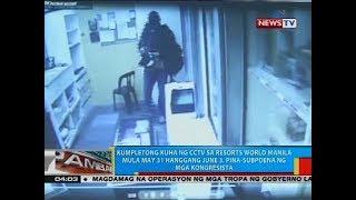 Kumpletong kuha ng CCTV sa RWM mula May 31 hanggang June 3, pina-subpoena ng mga kongresista