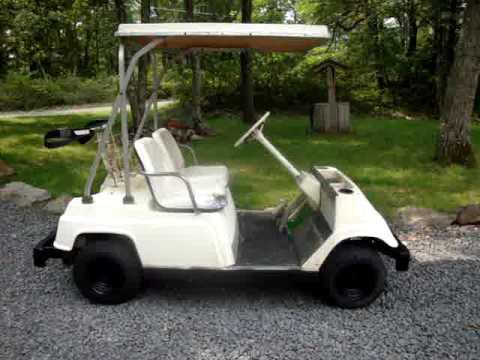 Yamaha G9 Gas Golf Cart Wiring Diagram 1981 Yamaha G1 Gas 2 Stroke Golf Cart 4 Sale On Ebay 8