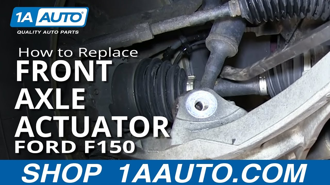 Tacoma Rear Differential Diagram How To Install Replace Front Axle Actuator 2004 2013 Ford
