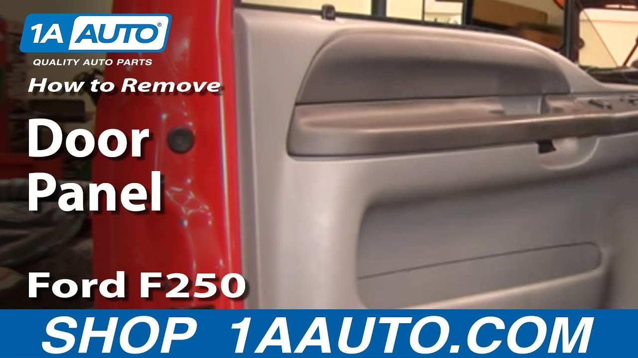F550 Tail Light Wiring Diagram How To Install Replace Remove Door Panel Ford F250 F350