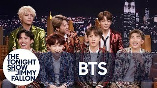 Jimmy Interviews the Biggest Boy Band on the Planet BTS