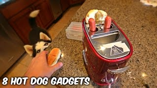 8 Hot Dog Gadgets put to the Test