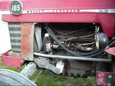 Amp Gauge Wiring Diagram For Tractor Massey Ferguson 165 Youtube