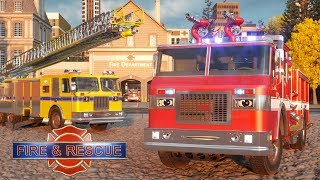 William Watermore the Fire Truck - Real City Heroes (RCH) | For Children