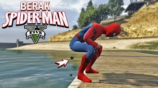 SPIDERMAN KEBELET EEK (BERAK) - GTA 5 MOD