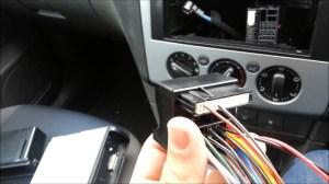 Ford Focus 2005 (Mark 2) Radio Removal  Installation