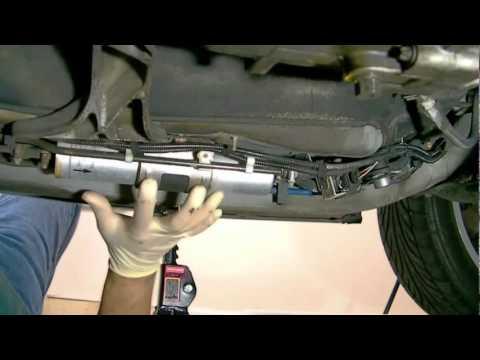 2001 Bmw X5 Fuel Filter Filtro Del Gasoil Youtube