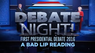 ″DEBATE NIGHT!″ — A Bad Lip Reading of the first 2016 Presidential Debate