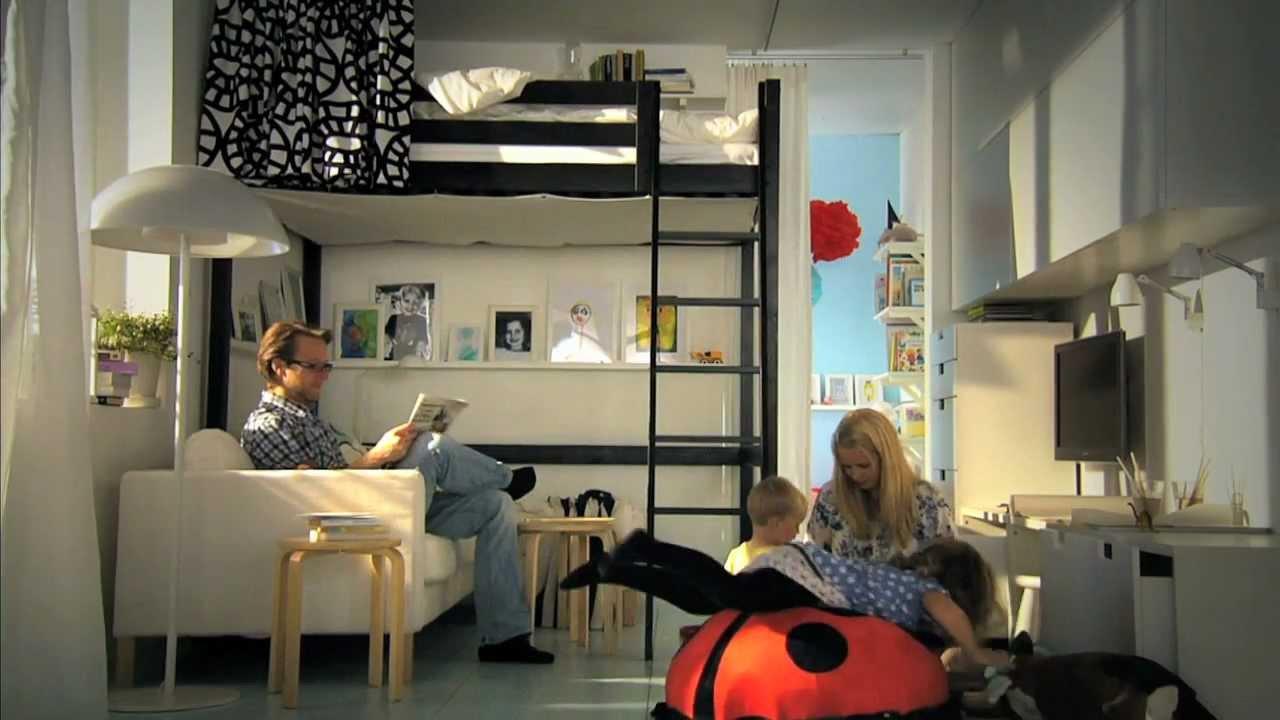 IKEA fr kleine Rume clevere Ideen fr mehr Platz  YouTube
