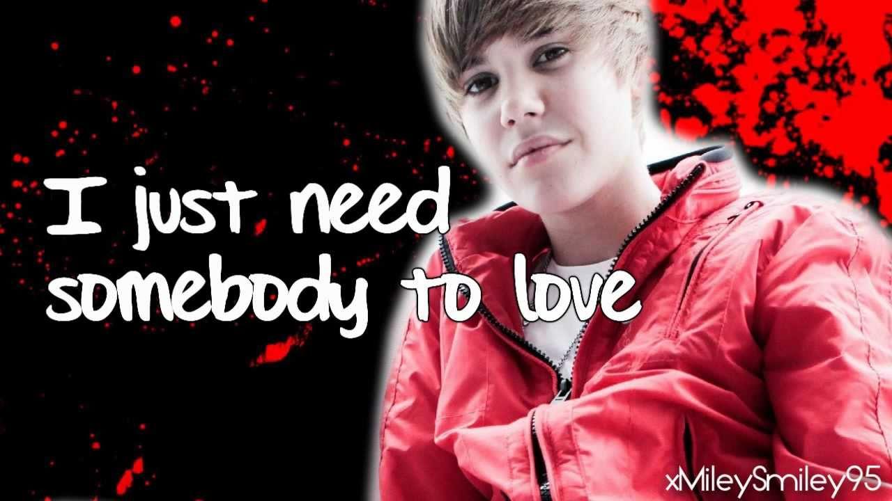 Lyrics Love Somebody