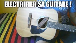 Micro pour guitare sèche