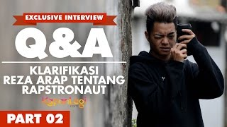 Q&A Reza Arap Oktovian [Part 1] - Ternyata Ngefans Ayu Ting Ting