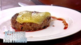 Owners Can't Take Criticism on Burger | Kitchen Nightmares