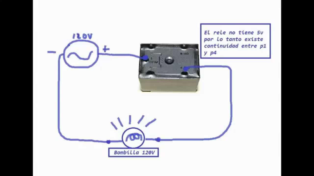 12v 5 pin relay wiring diagram swamp cooler switch como usar relé de 5v y pines (subida final) - youtube