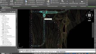 Multiple Intersections in Subdivision Design with Civil 3D