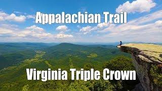 Appalachian Trail - Virginia Triple Crown (McAfee Knob, Tinker Cliffs, Dragons Tooth)