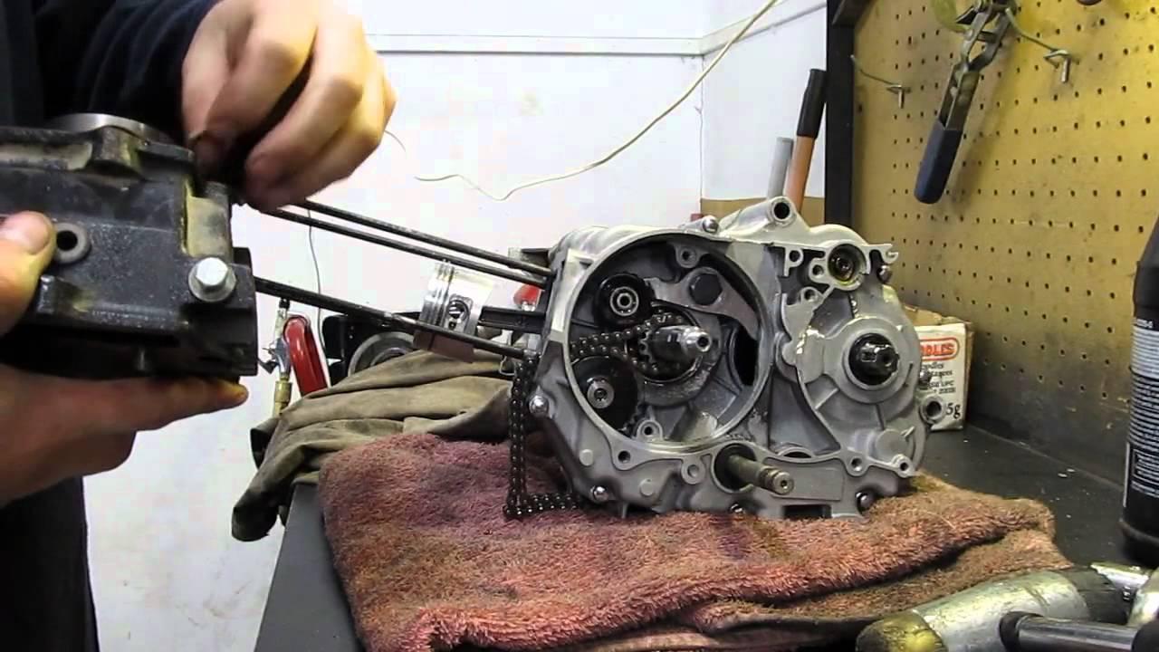 110cc chinese quad bike wiring diagram 2006 dodge ram 1500 infinity sound system pit engine teardown & rebuild pt3 - youtube