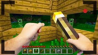 Realistic Minecraft - OUR FIRST DAY IN MINECRAFT #1