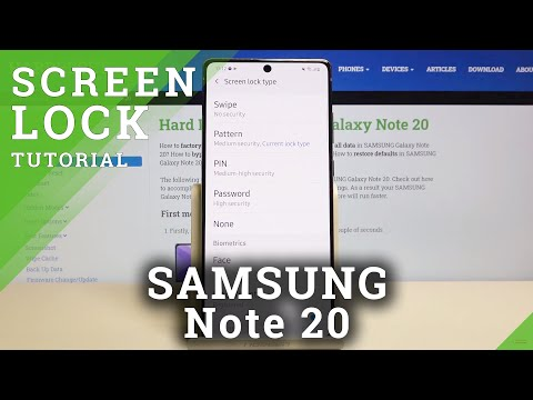 How to Change Lock Screen in SAMSUNG Galaxy Note 20 – Find Lock Screen Methods