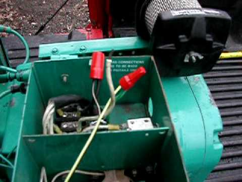 Wiring Diagram For Rv Inverter Onan 4 0 Rv Genset Generator Youtube