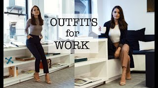 OFFICE LOOKBOOK   Professional Outfit Ideas!