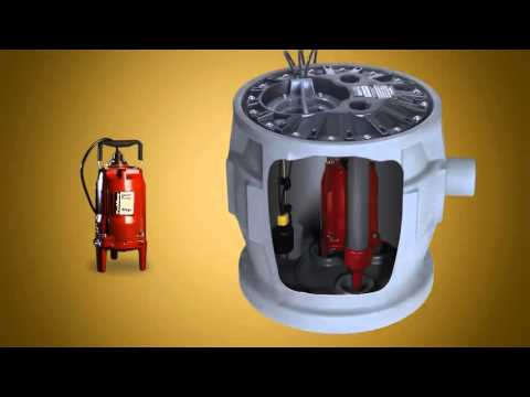 ProVore Residential Grinder Pumps  When Bathroom is Below Sewer line  Requires Pumping  YouTube