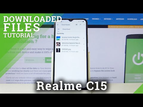 How to Find Downloaded Files in REALME C15 – Localize Downloading Folder