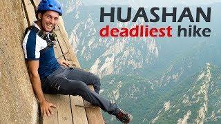 Deadliest Hiking Trail in the World | Huashan Mountain