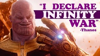 INFINITY WAR QUOTES (YIAY #382)