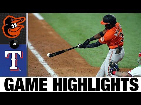 Orioles vs. Rangers Game Highlights (4/17/21)   MLB Highlights