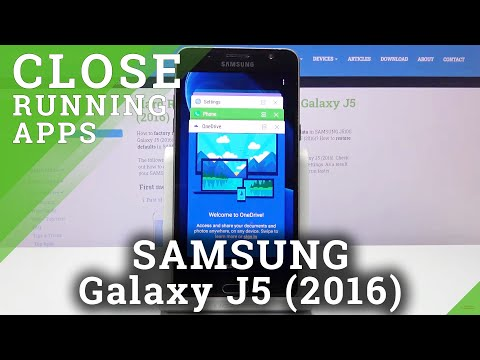 How to Disable Running Apps in SAMSUNG GALAXY J5 (2016) – Clear Background Apps