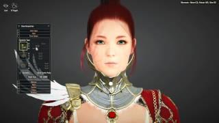 Black Desert (KR) | Valkyrie Character Creation Sexy Redhead (OBT Gameplay)