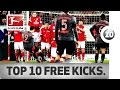 Top 10 Free Kicks of 2016/17 So Far ... - Lewandowski, Rodriguez, Risse & Co.