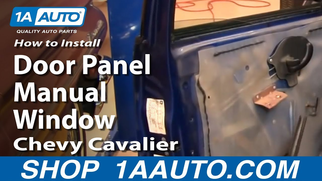 Wiring Diagram For 2003 Pontiac Grand Am How To Install Replace Front Door Panel Manual Windows